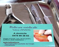 Valérie Zinsou - Pédicure médicale